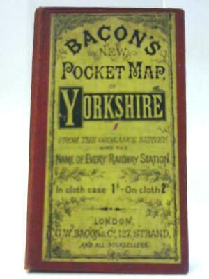 Bacon's New Pocket Map of Yorkshire (Unknown - 1111) (ID:97282)