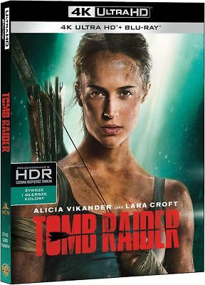 Tomb Raider (2018) 4K - 4K Uhd + Blu-Ray