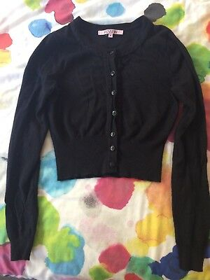 Black Review Chessie Cardigan 6