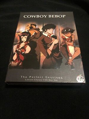 Cowboy Bebop The Perfect Sessions Limited Edition DVD Boxed Set