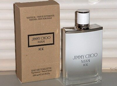 30404da505e JIMMY CHOO MAN ICE 3.3 oz  100 ml EAU DE TOILETTE SPRAY MEN NEW IN ...