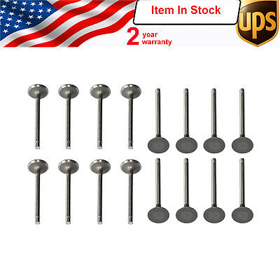 SET of 16 Intake & Exhaust VALVES  for C230 W203 2003-2005 2710530001 2710500027