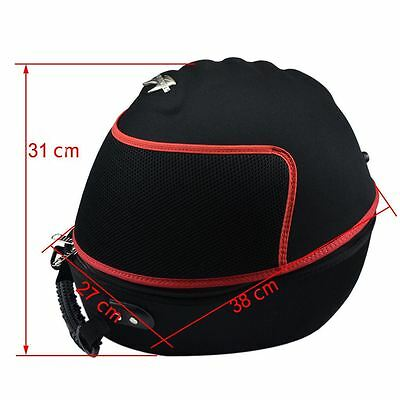 Large Motorcycle Helmet Case Holder Lightweight Carry Case Vented Shoulder Bag