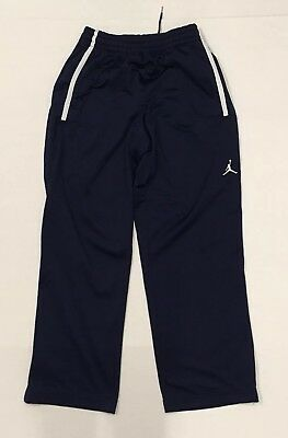 d0ebd130c9805c NIKE AIR JORDAN Sweatpants Men s Medium Navy Blue Warm Up Pants ...