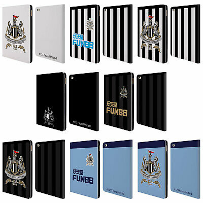 NEWCASTLE UNITED FC NUFC 125 YEAR ANNIVERSARY LEATHER BOOK CASE FOR APPLE iPAD
