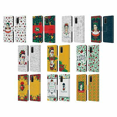 Official Frida Kahlo Icons Leather Book Wallet Case Cover For Samsung Phones 1