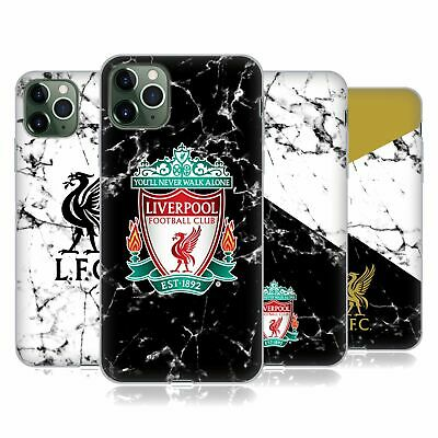 OFFICIAL LIVERPOOL FOOTBALL CLUB 2017/18 MARBLE GEL CASE FOR APPLE iPHONE PHONES