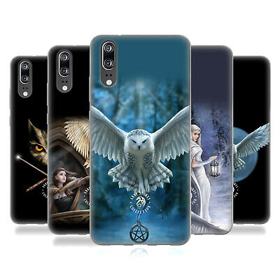 Official Anne Stokes Owls Soft Gel Case For Huawei Phones