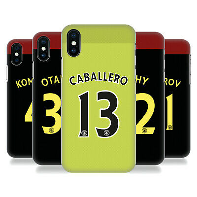 MANCHESTER CITY MAN CITY FC AWAY KIT 2016/17 1 BACK CASE FOR APPLE iPHONE PHONES
