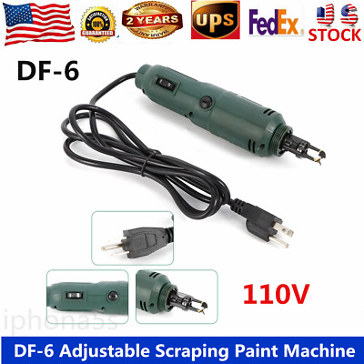 110V Adjustable Scraping Paint Machine With Efficient Stable Performance US SHIP