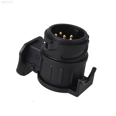 1371 Car Trailer Exterior Plug Adapter 13Pin to 7Pin Converter Tow Bar Socket