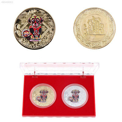 FCD8 Collectible Commemorative Coins Shiny Ornaments Plated Gold Decoration