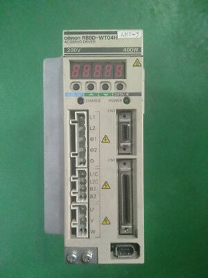 1Pc  Used  Omron  R88D-Wt04H