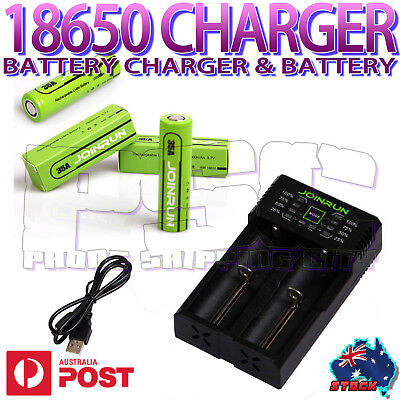 JOINRUN N2 Smart lithium LI-ION LCD battery Charger 18650 20700 26650 RCR123A RT