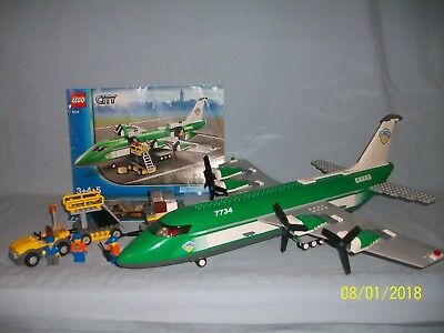 100 Complete Lego City 3182 Airport And Plane With Instructions