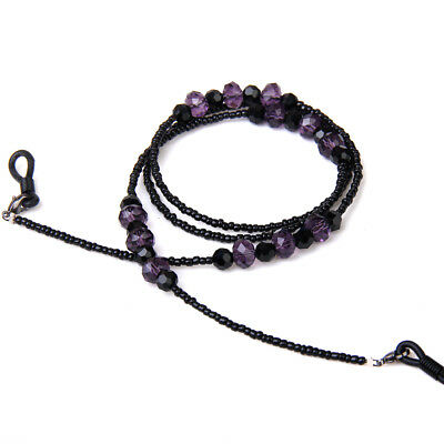 Bohemian Glass Bead String Necklace Cord for Eyeglass Sunglasses Retainer