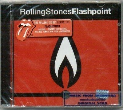 Rolling Stones The Flashpoint Remaster 2009 Sealed Cd New