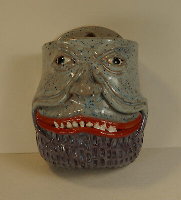 BLUE WALL PLANTER - FACE JUG for plants