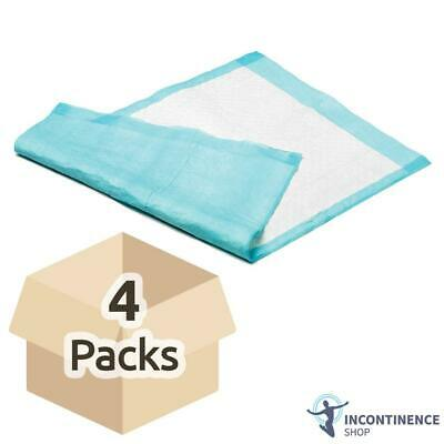 Readi Disposable Incontinence Bed Pads - 60cm x 90cm - Case - 4 Packs of 25