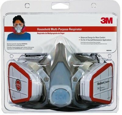 3m reusable sanding valved safety mask