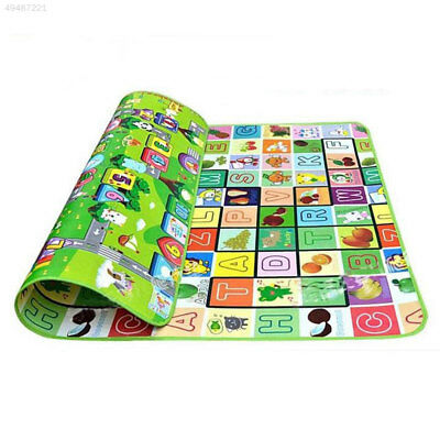 973A 21.8M Waterproof Crawl Play Kids Foam Floor Puzzle Blanket Picnic Rug