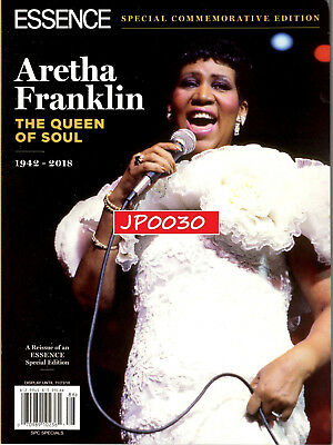 Essence Collectors Edition 2018, Aretha Franklin 1942-2018, Brand New/Sealed