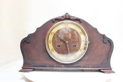 Beautiful Antique Junghans  German Table Clock