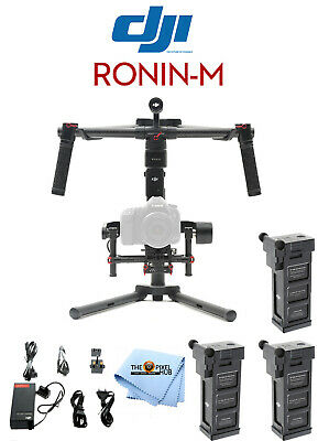 DJI Ronin M 3-Axis Brushless Gimbal Stabilizer With Extra Battery BRAND NEW