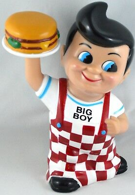 2001 Shoney's BIG BOY RUBBER COIN BANK