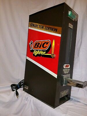 Bic Lighter Vending Machine... Collector Edition