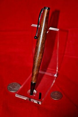 South Western Hand Made Wood Cigar Pen RARE Iron Wood Antique Gun Metal  # 1