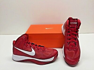 8cd8f354192b Nike Zoom Hyperfuse TB Basketball Red White Athletic Sneakers Shoes Womens  8.5