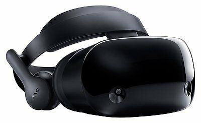 Samsung Hmd Odyssey Windows Mixed Reality Headset with 2 Wireless Controllers -R