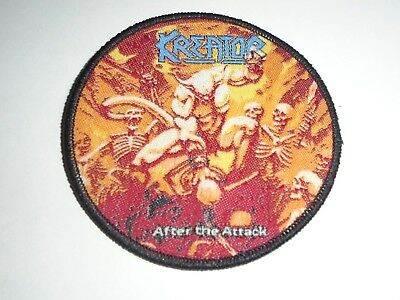 Kreator After The Attack Woven Patch