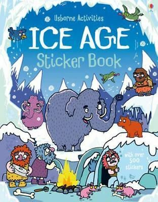 NEW Ice Age Sticker Book By Kirsteen Robson Paperback Free Shipping