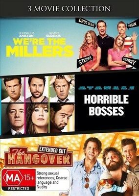 We're The Millers / Horrible Bosses / The Hangover, DVD