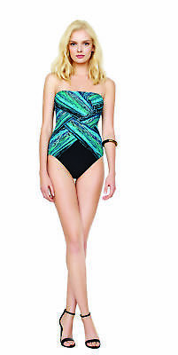 327443fbed2e0 Gottex Gottex Swimwear Snake Charmer Contour Slimming Swimsuit one piece