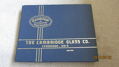 Cambridge Glass Company Collector's Books 1930-34 and Value Guide