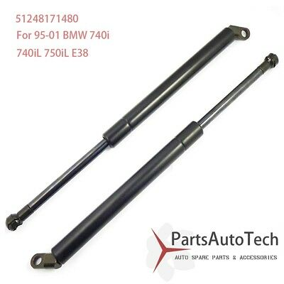 Rear Trunk Lid Lift Support Struts Pair Set for 95-01 BMW E38 7 Series