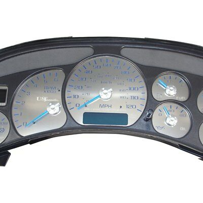 FOR CADILLAC ESCALADE 03-05 US Speedo Stealth Edition Gauge Face Kit