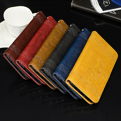 For Samsung Galaxy J7 J5 J3 2017 Flip Card Stand Leather Wallet Book Case Cover