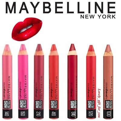 Maybelline Color Drama by Color Show Intense Velvet Lip Crayon Choose 7 Shades