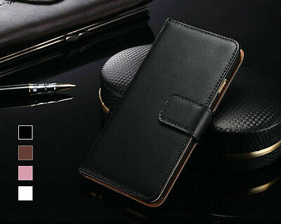 Protective Casing Case Leather Sheath for Various Apple iPhone Models Flip Cover