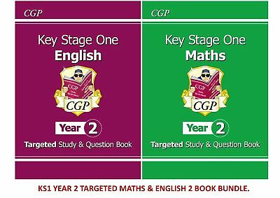 Collins Ks1 Sats English Revision Workbook And Practice 3 Book Bundle Ages 5-7