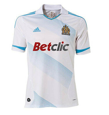 Bnwt Official Authentic Adidas Marseille Fc Home Shirt Season 2011-2012 Size Xxl