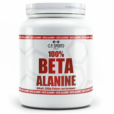 Beta Alanine Pulver Booster Pre Workout Alanin Ausdauer Regeneration Fitness Gym