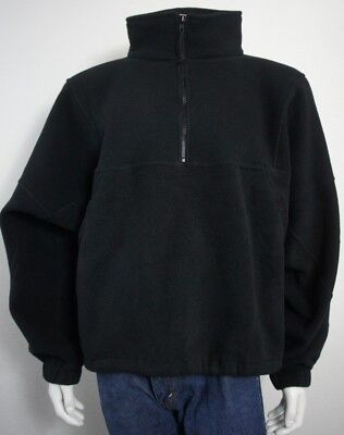 *NEW* Boy Scouts Of America Black Fleece Jacket Sweatshirt Men's Size XL
