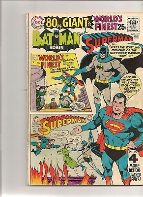 World's Finest # 179 - Giant - Size ! !