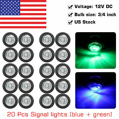 19mm 12V Car Aluminum LED Power Push Button Metal ON/OFF Switch Latch Waterproof