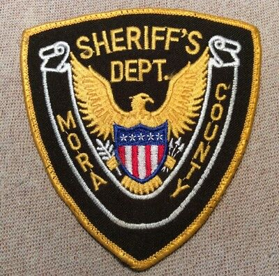 NM Mora County New Mexico Sheriff Patch